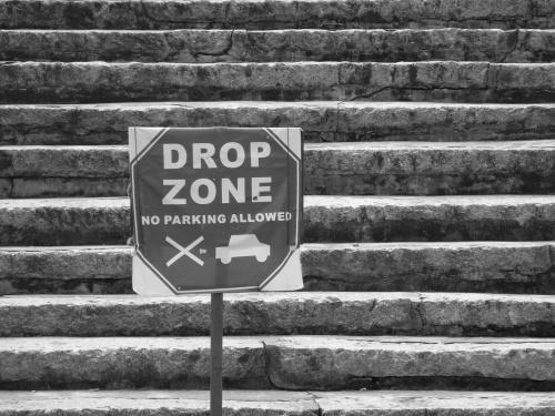 ~drop zone~ image copyright Kris Lee 2013
